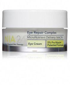 Best Eye Cream for Dark Circles - NIA 24 Eye Repair Complex #AntiAgingEyeCream Eye Cream For Dark Circles, Best Eye Cream, Tired Eyes, Skin Cream, Best Face Products, Cool Eyes, Skin Care Tips, Skin Tips, Eye Creams