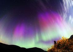 Aurora taken September 12, 2014 near Ørsta, Norway