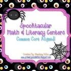 MUST HAVE!  {93 page Halloween packet}    12 Literacy activities that are COMMON CORE ALIGNED!  They are great for station and center w...