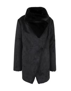 1857e0ac5ecc LAUREN RALPH LAUREN Damen Mantel7 schwarz - Kategorie  Damen Bekleidung  Jacken Mäntel Chemiefaser Wildleder-