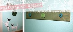 Knobby Wall Hooks (DIY project under $10)