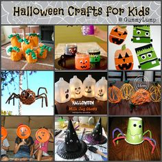 #Halloween #Crafts for Kids Roundup