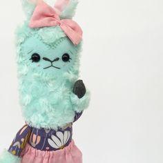 Mint llama :: by Friends of Hadley ( friendsofhadley.com )