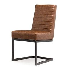 Laurel Foundry Modern Farmhouse Imane Side Chair Upholstery Color: Brown