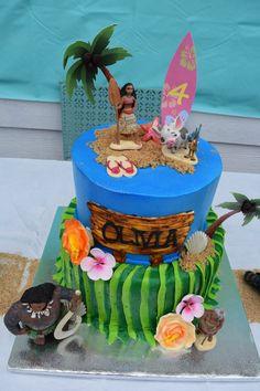 Moana Birthday Cake!