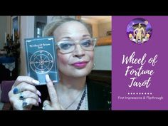 The Wheel of Fortune Tarot : First Impressions & Flipthrough Wheel Of Fortune Tarot, Tarot Reading, Tarot Decks, Daughter, Etsy Shop, Watch, Videos, Youtube, Clock