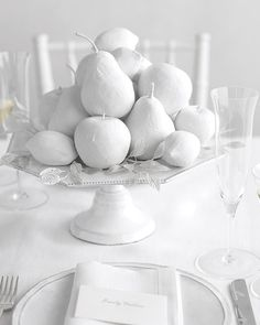 Winter White Fruits How-To - Martha Stewart Weddings Inspiration