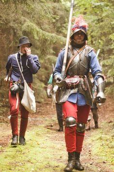 Kleurrijke Quenellaanse huurlingen.
