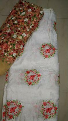 Jute georgette sarees with designer blouse | Buy Online georgette sarees | Elegant Fashion Wear