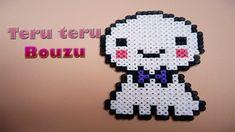 Teru Teru Bouzu hecho con hama beads o perler beads   DIY  