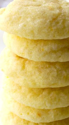 Soft Baked Orange Sugar Cookies ~ Soft sugar cookies that burst with orange flavor and are sure to be your new favorite sweet treat.