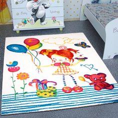 teppich kinderzimmer Öko eingebung abbild der eedfebbffa ballon dor creme