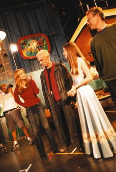 Filming Once More With Feeling--Buffy Goodness