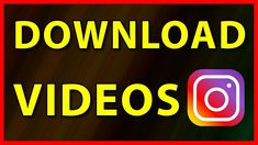 How to download any Instagram video in Android (2019) Instagram Tricks, Save From Instagram, Android Tutorials, Video Tutorials, Download Video, Computers, Tips, Counseling