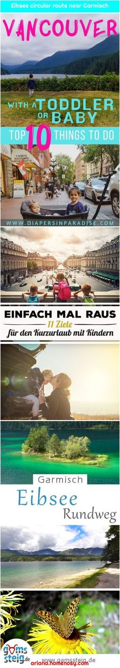 Which regions in Germany and neighboring countries offer for all family members .Eibsee-Rundweg bei Garmisch Hike around the turquoise-blue Eibse. Valentine Box, Being In The World, All Family, Traveling With Baby, Used Iphone, More Photos, In The Heights, Countries, Travel Tips