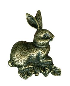 Rabbit Bronze Ring $ 15