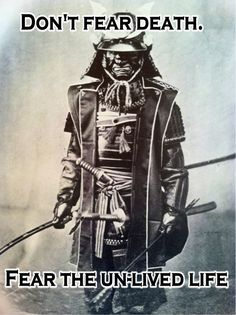 Samurai Warrior [ Swordnarmory.com ] #Samurai #Wisdom #Swords