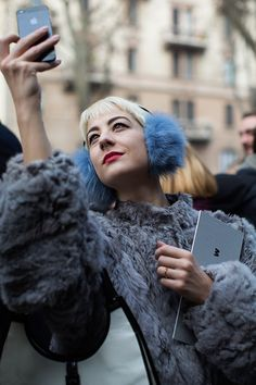On the Scene…Before Marni, Milan (from The Sartorialist) See more at http://www.thesartorialist.com/?p=60053