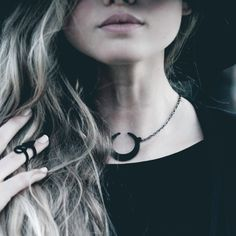 """Rogue and Wolf """"Eclipse"""" Necklace"""