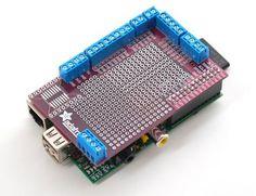 Prototyping Pi Plate Kit from Adafruit.