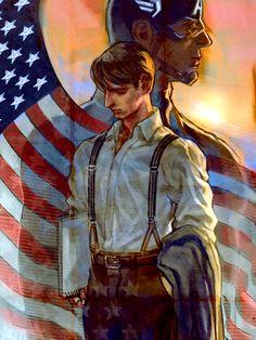 Steve Rogers/ Captain America