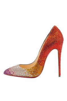 Multi Christian Louboutin Sexy High Heels