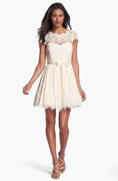 Little white dress from Nordstrom