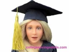 Meet Jessica! Your College Savings Doll!  Buy her @ www.collegesavingsdolls.com