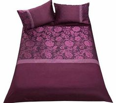 Inspire Jacquard Purple Bedding Set - Superking Bring some stylish glamour to your bedroom with this Inspire Jacquard Funky Fuchsia Duvet Cover Set. This duvet cover set includes a duvet cover and 2 pillowcases. Set includes 1 duvet cover and 2 pil http://www.comparestoreprices.co.uk//inspire-jacquard-purple-bedding-set--superking.asp