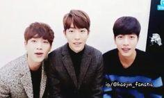 park hae jin 박해진 ; seo kang joon 서강준 ; nam joo hyuk 남주혁 cheese in the trap 치즈인더트랩 v.app 11.19.2015