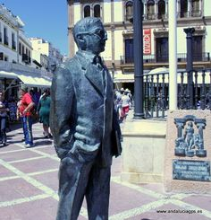 """#Málaga #Ronda - Blas Infante GPS 36.743123 -5.165656. Fue un político español, considerado oficialmente como el """"Padre de la Patria andaluza"""" , por ser el máximo ideólogo del andalucismo federalista o regionalismo andaluz. En 1913 en el Congreso Georgïsta de Ronda (Málaga) expone sus ideas políticas y socioeconómica de Andalucía."""