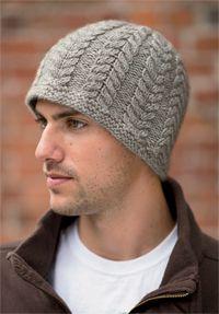 Mystical Twist Hat - Knitting pattern from Winter 2013 Love of Knitting Mens  Hat Knitting Pattern 46d4fd45c30