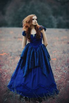 ~The Blue Dress~