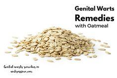 Oatmeal for Genital Warts