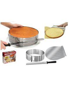Rustfri Zenker multi lags kake deler / kutter form