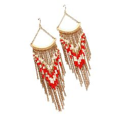 """Navajo Beaded Earrings    Imported jewelry.There are very strict laws labeling something as """"Navajo"""". Just ask Urban Outfitters. It cost them 18% in stock value when they were sued by the Navajo Nation. Not the pinners fault, but the original sites irresponsibility."""