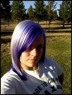 My purple and white hair created with Pravana Colors Available at RDA Baytown