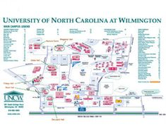 9 Best UNCW images | Campus map, Wilmington nc, Dorm Room