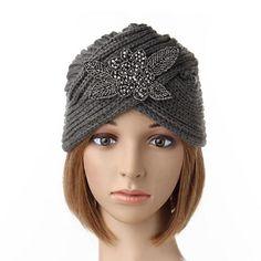 d3df83b503a91 Women Crochet Knitting Beanie Cap Turban Handmade Headwrap Headband Winter  Warm