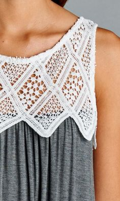 lace top maxi dress - perfect for a swim coverup or summer day at the park