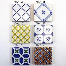Piastrelle ceramica Caltagirone  Retinate.