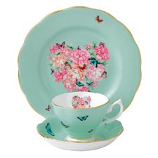 Miranda Kerr for Royal Albert Blessings teacup, saucer and plate. These are pricey but sooo pretty and just in time for mothers day. <3