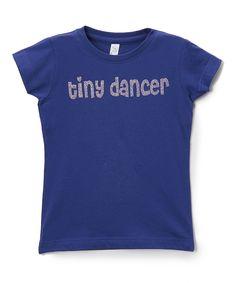 Royal Blue 'Tiny Dancer' Tee - Infant Toddler & Girls