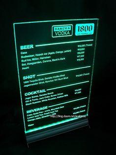 led menuscript
