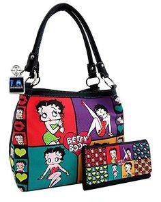 Amazon.com  Betty Boop Premium Purse and Wallet 4fce377bc1ad0