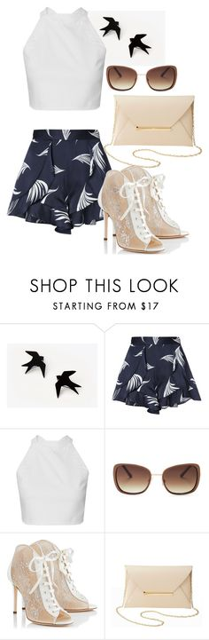 """"""""""" by fannyfelia on Polyvore featuring C/MEO COLLECTIVE, Lucky Brand, Jimmy Choo and Charlotte Russe"""