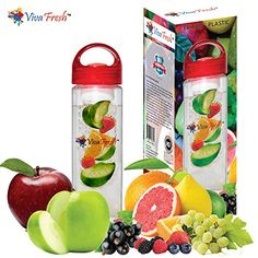 Infusion Water Bottle - Create Your Own Naturally Flavored Fruit Infused Water, Juice, Iced Tea, Lemonade & Sparkling Beverages Viva Fresh http://www.amazon.com/dp/B00WH69YTI/ref=cm_sw_r_pi_dp_6MKQvb0VDCRFN