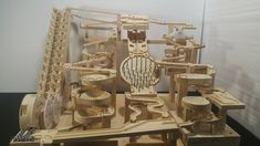 Modules: independent, interchangeable, such that each contains everything necessary to execute the desired functionality. Wooden Marble Run, Marble Toys, Marble Maze, Marble Machine, Cultura Maker, Rolling Ball Sculpture, Marble Tracks, Kinetic Toys, Wood Toys Plans