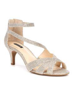 Alex Marie Mariane Satin Rhinestone Detail Dress Sandals ExwIG