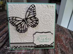 Carolyn's Card Creations: Hooray, a Butterfly Card (Sneak Peek)